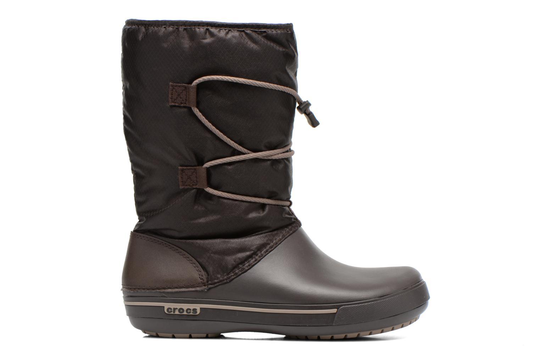 Bottines et boots Crocs Crocband II.5 Cinch Boot W Marron vue derrière
