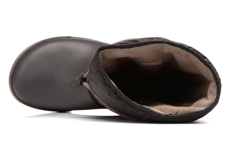 Bottines et boots Crocs Crocband II.5 Cinch Boot W Marron vue gauche