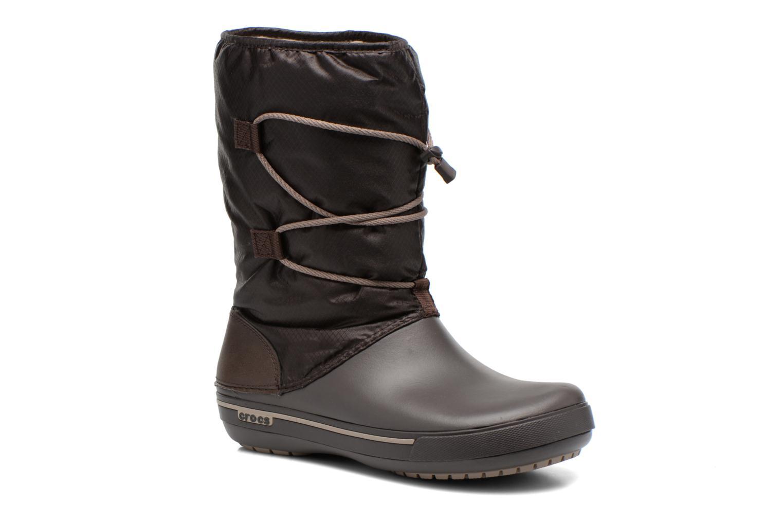Bottines et boots Crocs Crocband II.5 Cinch Boot W Marron vue détail/paire