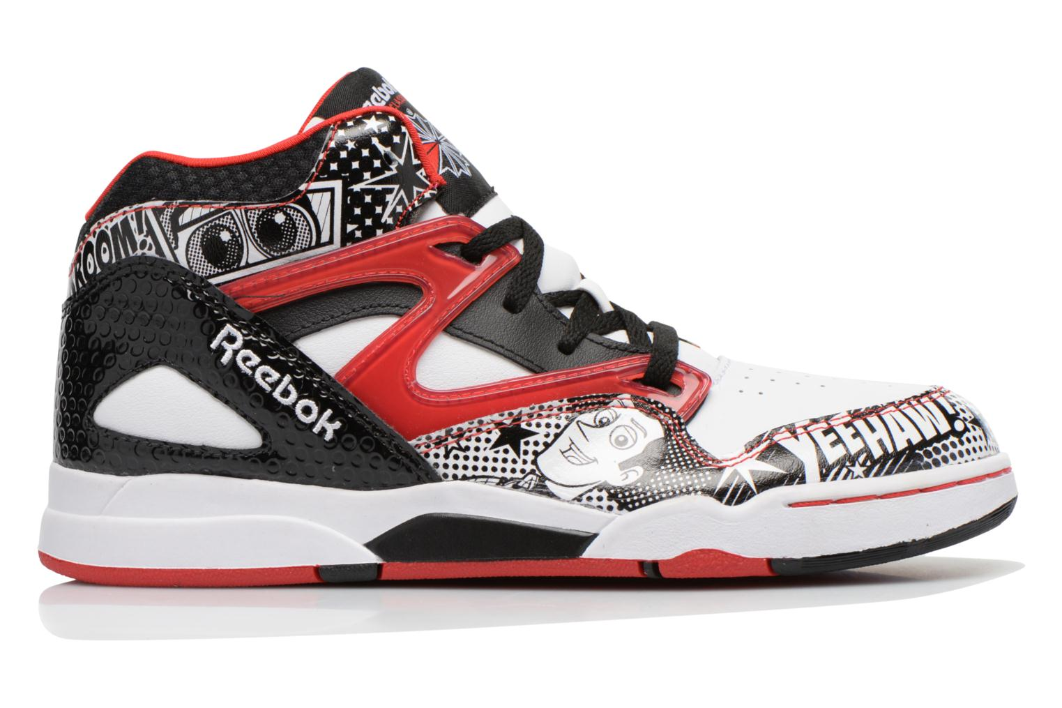 Trainers Reebok Pixar Pump Omni Jr White back view