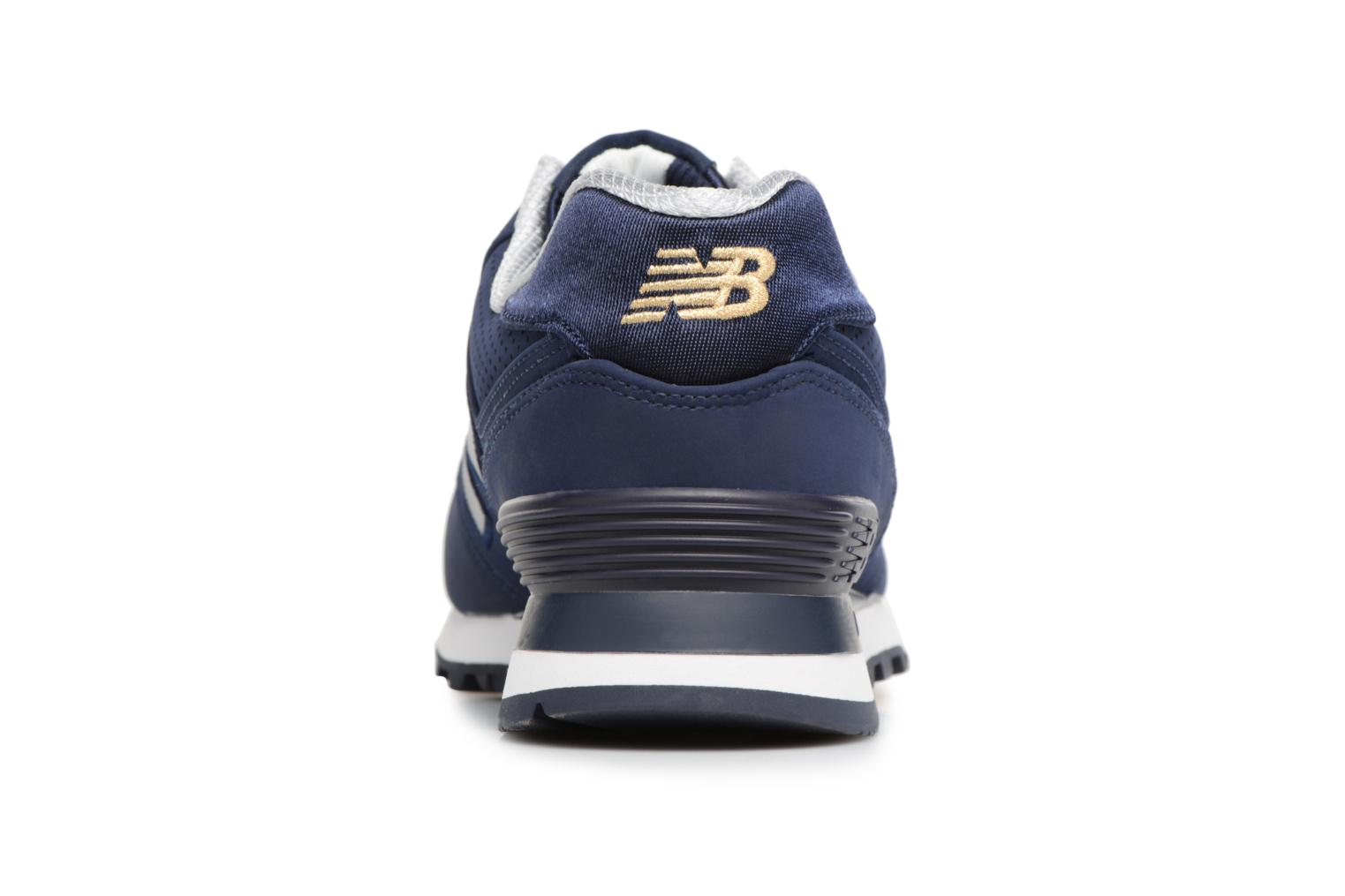 Trainers New Balance ML574 D Blue view from the right