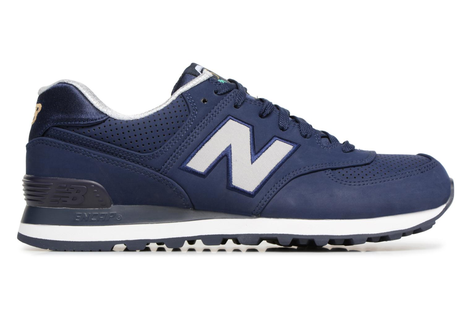 Trainers New Balance ML574 D Blue back view