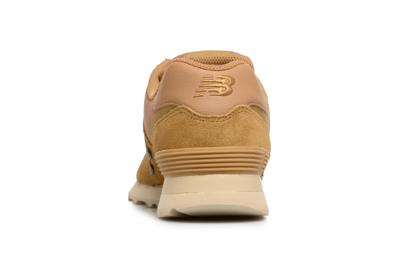 Sneaker New Balance ML574 D beige ansicht von rechts
