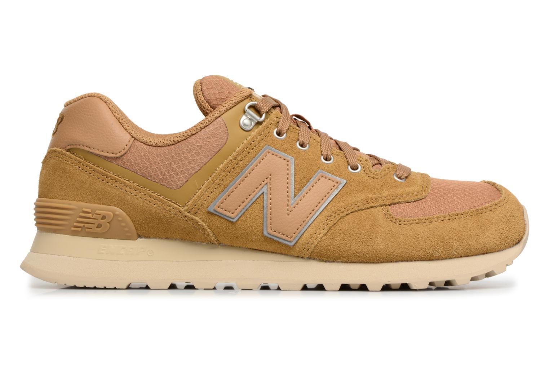 Sneaker New Balance ML574 D beige ansicht von hinten