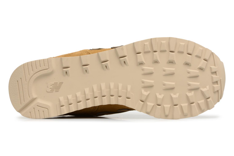 Sneaker New Balance ML574 D beige ansicht von oben