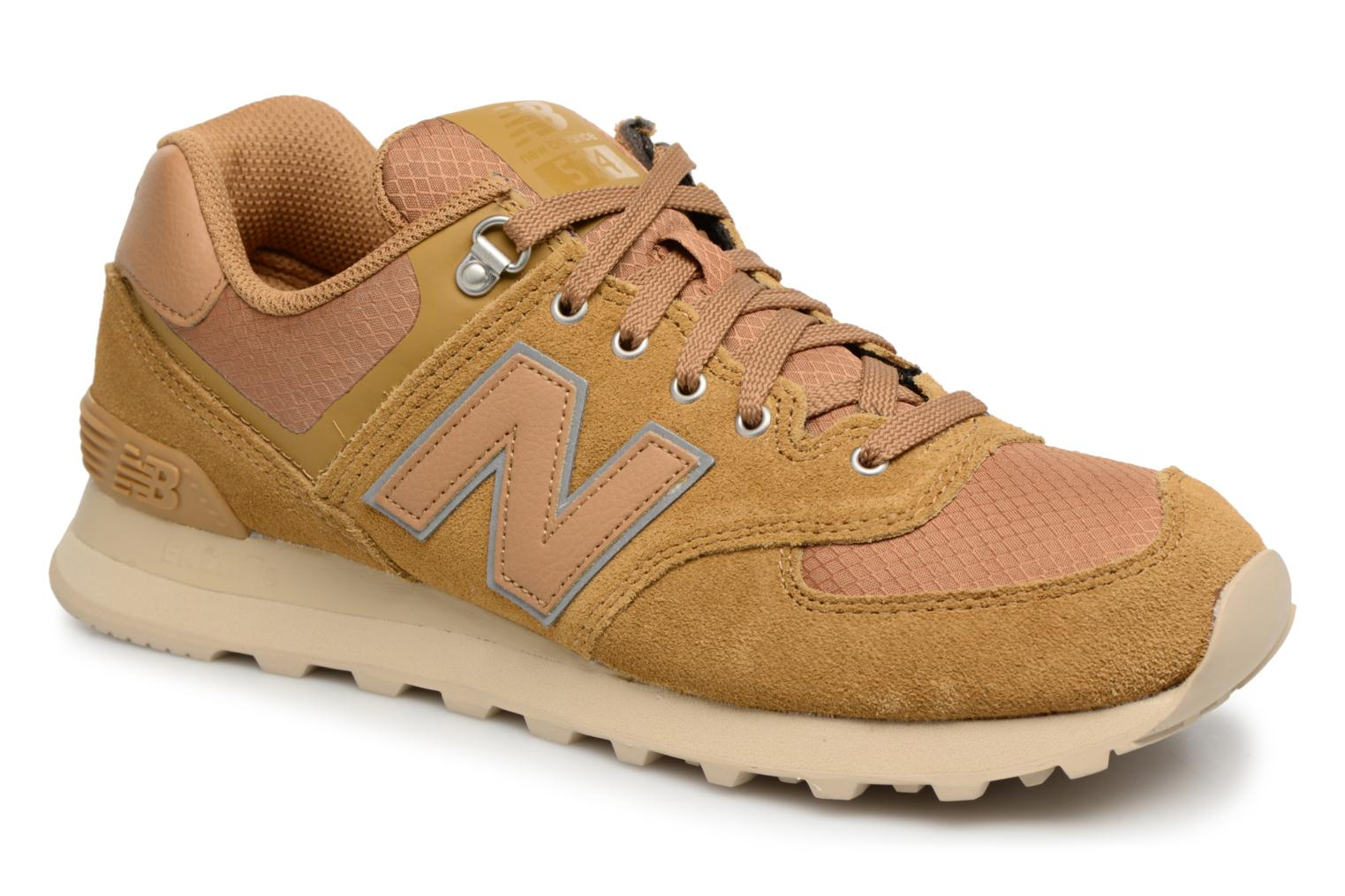 Trainers New Balance ML574 D Beige detailed view/ Pair view