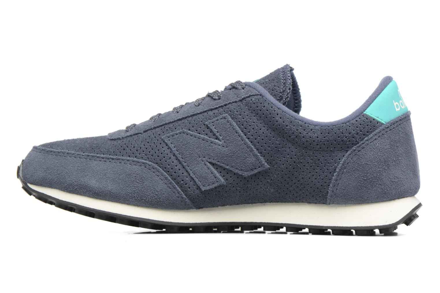 Baskets New Balance U410 D W Gris vue face