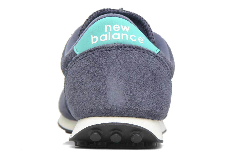 Baskets New Balance U410 D W Gris vue droite