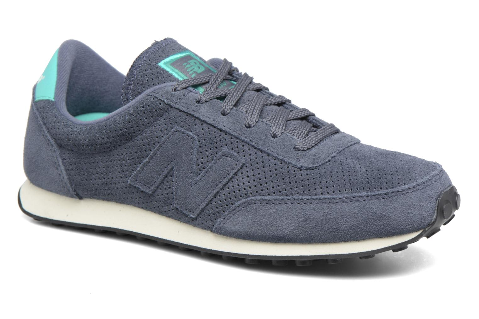 Trainers New Balance U410 D W Grey detailed view/ Pair view