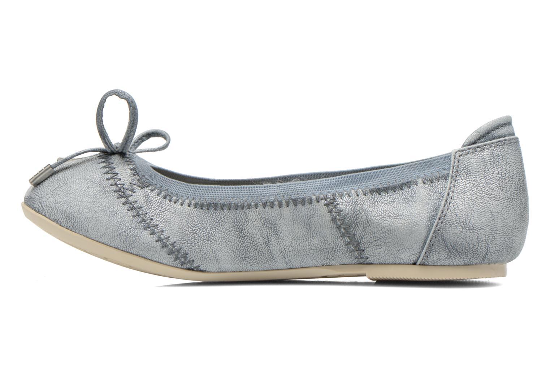 Ballerinas Mustang shoes Leah blau ansicht von vorne