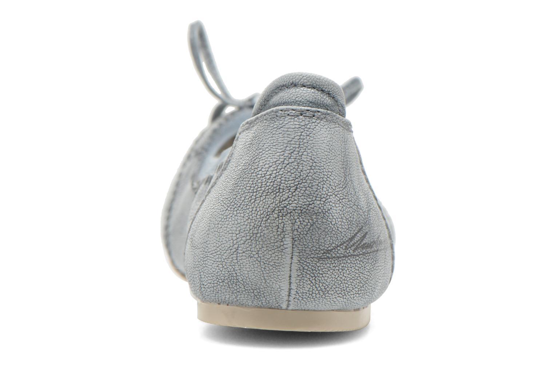 Ballerines Mustang shoes Leah Bleu vue droite