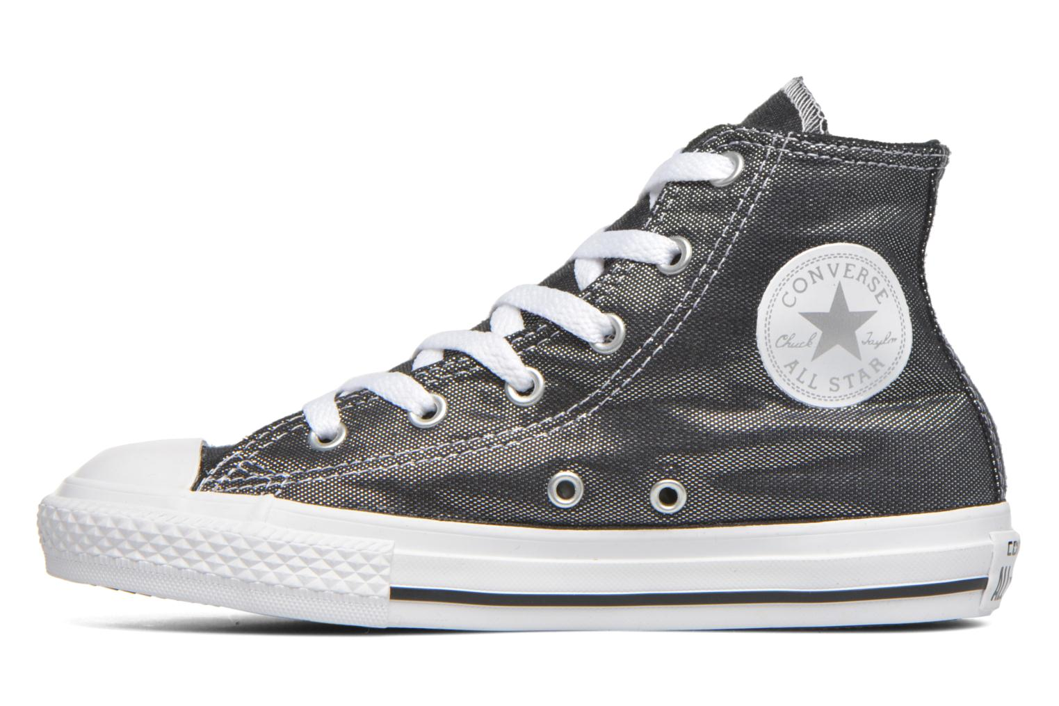 Baskets Converse Chuck Taylor All Star Hi Gris vue face