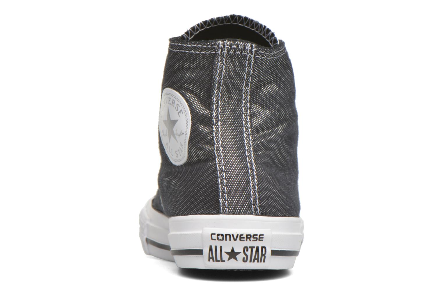 Trainers Converse Chuck Taylor All Star Hi Grey view from the right
