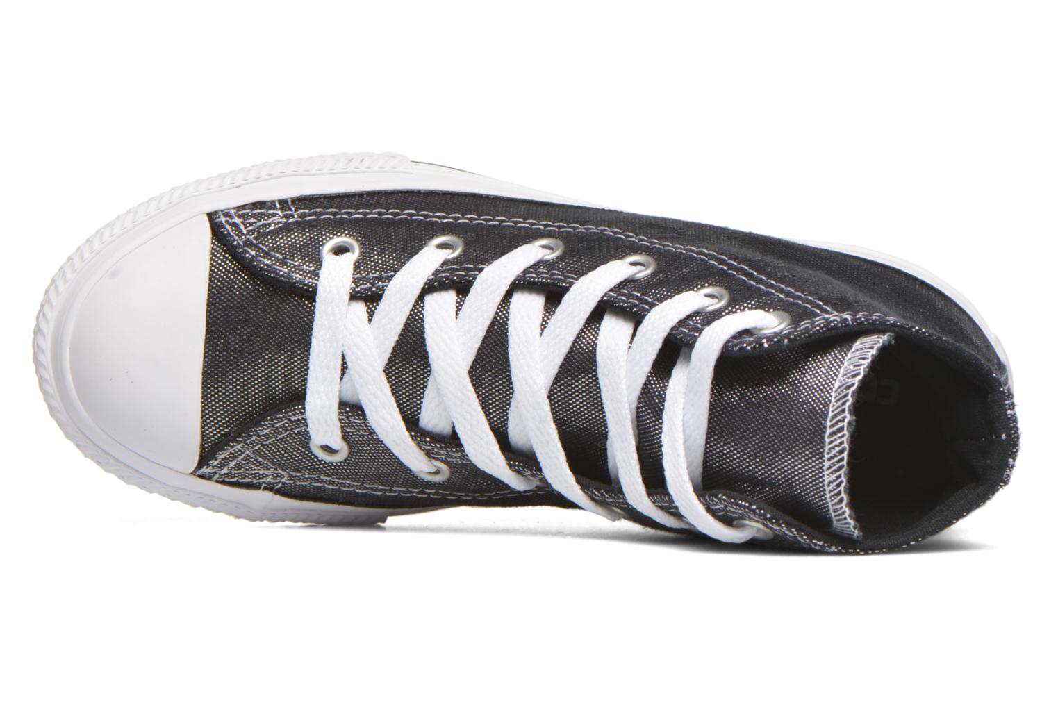 Trainers Converse Chuck Taylor All Star Hi Grey view from the left