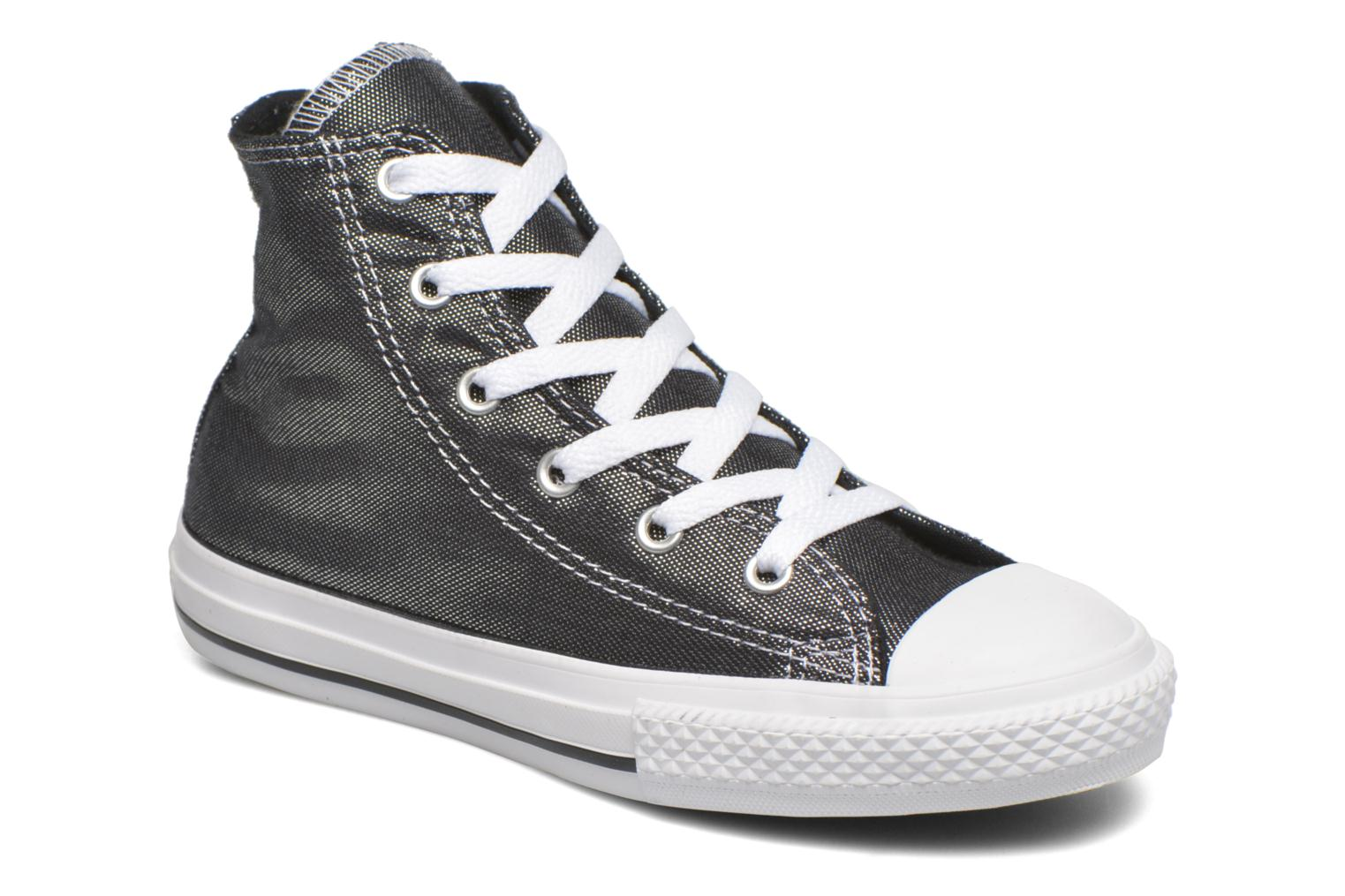 Baskets Converse Chuck Taylor All Star Hi Gris vue détail/paire