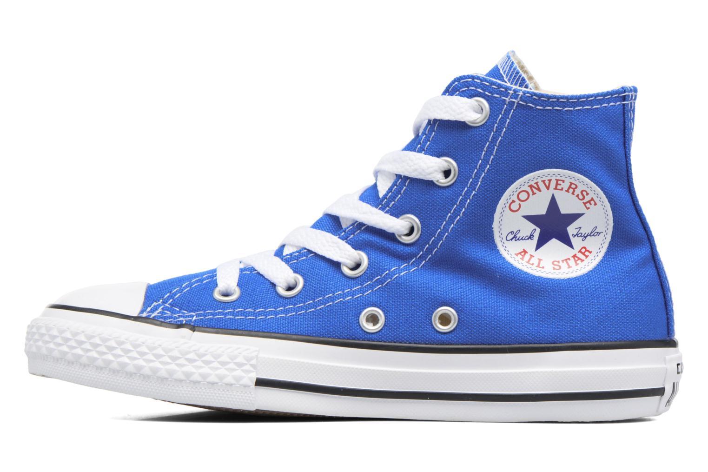 Sneaker Converse Chuck Taylor All Star Hi blau ansicht von vorne