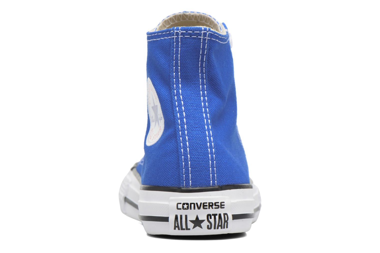 Sneaker Converse Chuck Taylor All Star Hi blau ansicht von rechts