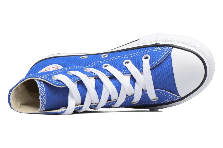 Sneaker Converse Chuck Taylor All Star Hi blau ansicht von links