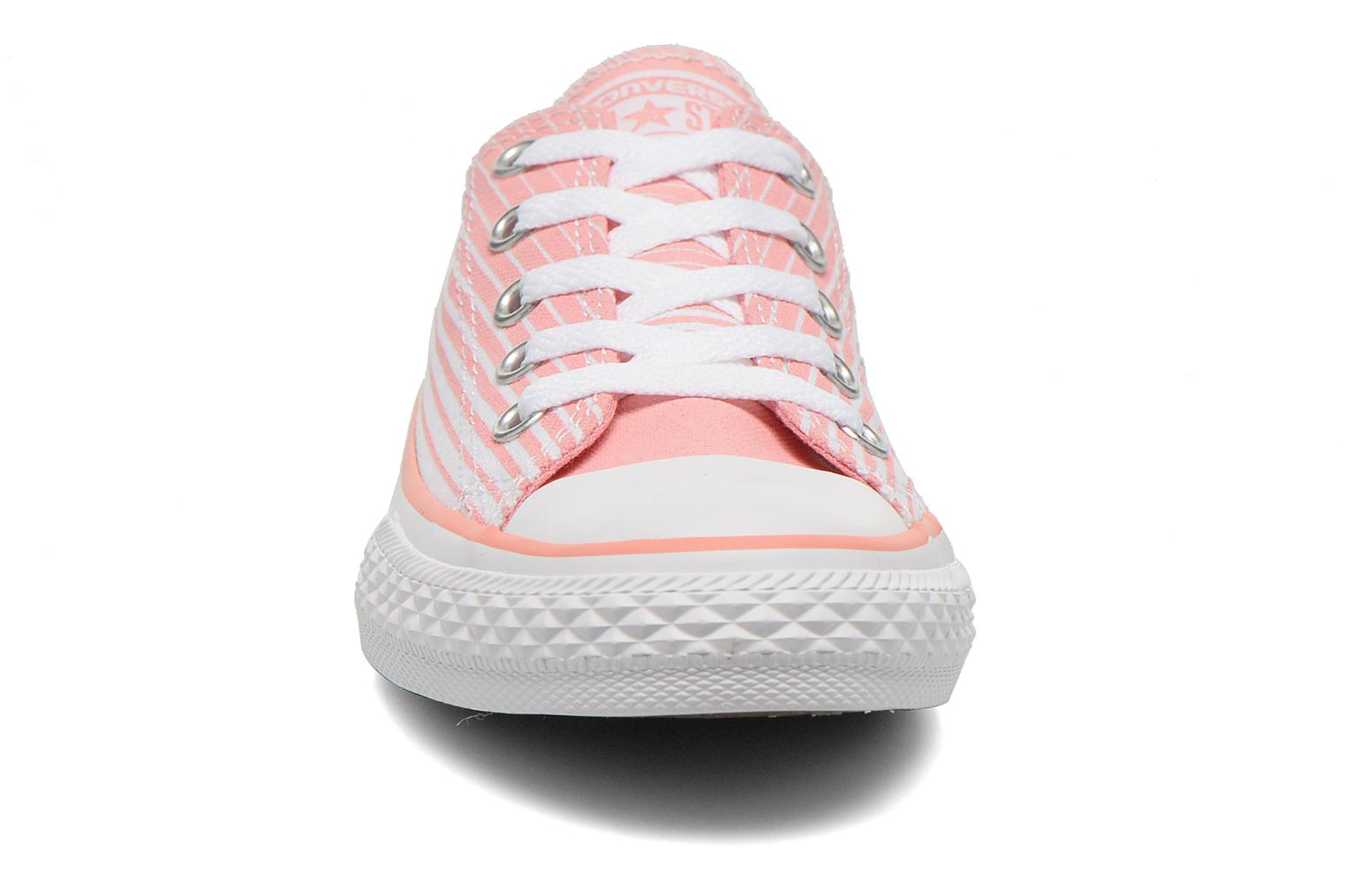Vapor Pink/Green Glow/White Converse Chuck Taylor All Star Ox (Multicolore)