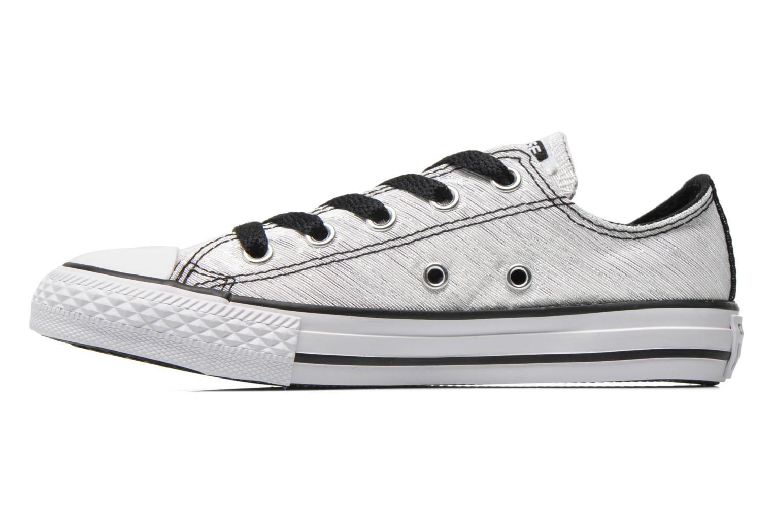 Baskets Converse Chuck Taylor All Star Ox Blanc vue face