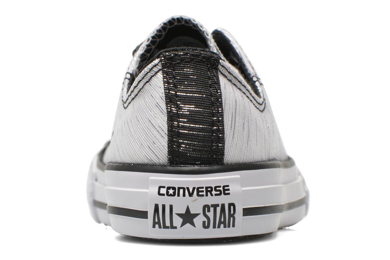 Sneakers Converse Chuck Taylor All Star Ox Vit Bild från höger sidan