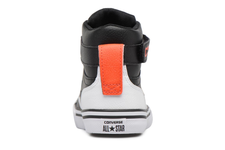 Baskets Converse Pro Blaze Strap Stretch Hi Sport Leather Noir vue droite