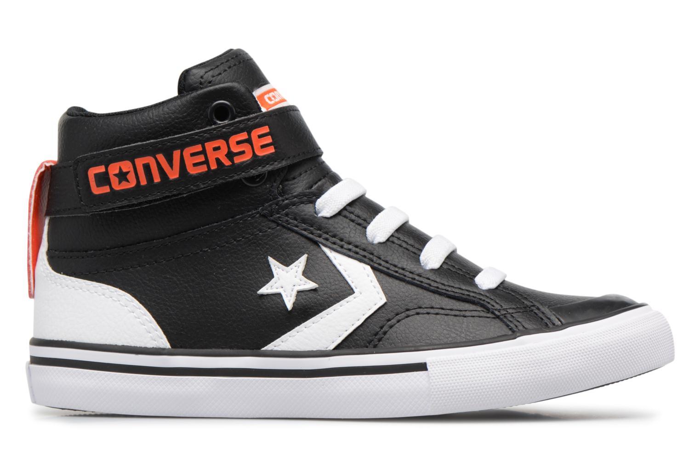 Baskets Converse Pro Blaze Strap Stretch Hi Sport Leather Noir vue derrière