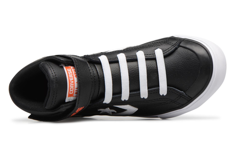 Baskets Converse Pro Blaze Strap Stretch Hi Sport Leather Noir vue gauche