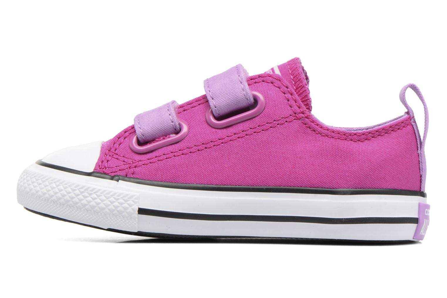 Trainers Converse Chuck Taylor All Star 2V Ox Purple front view