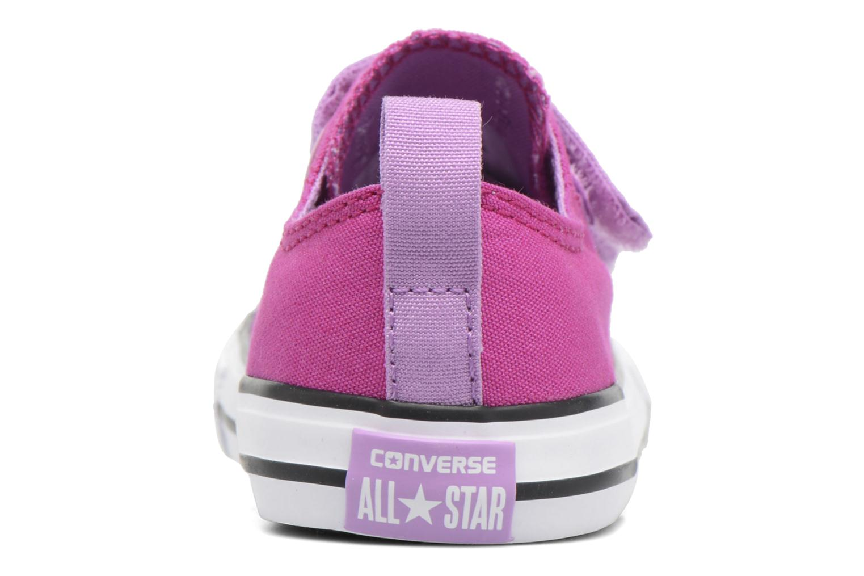 Baskets Converse Chuck Taylor All Star 2V Ox Violet vue droite
