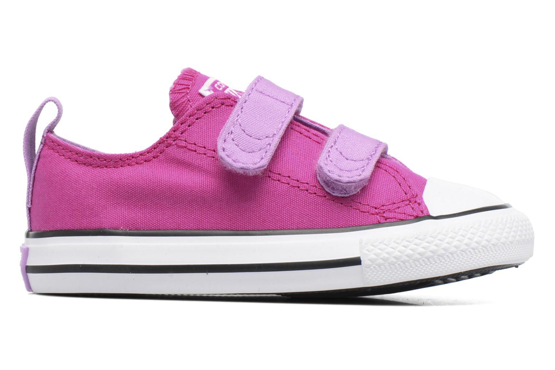 Sneakers Converse Chuck Taylor All Star 2V Ox Lila bild från baksidan