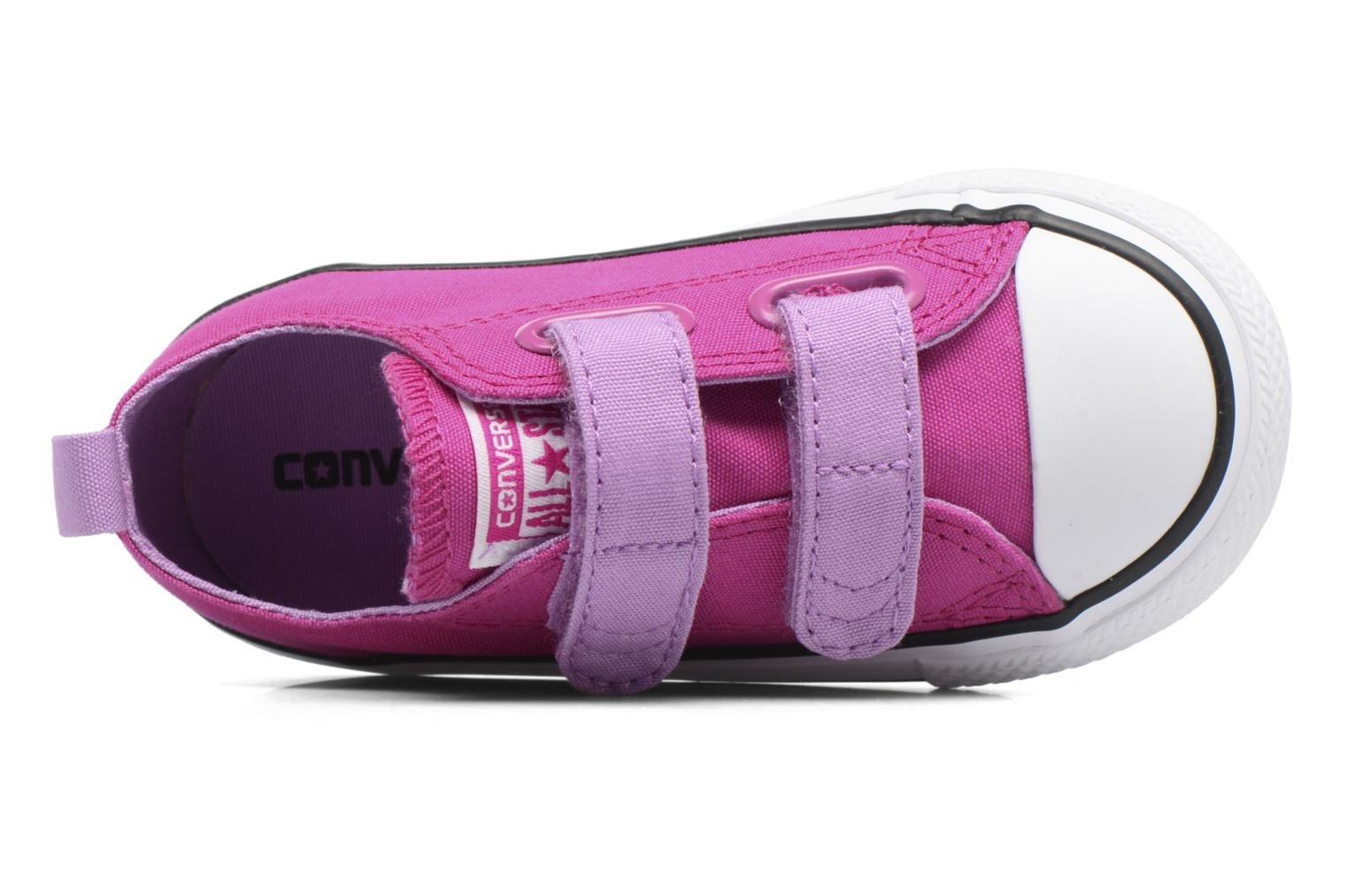 Sneakers Converse Chuck Taylor All Star 2V Ox Viola immagine sinistra
