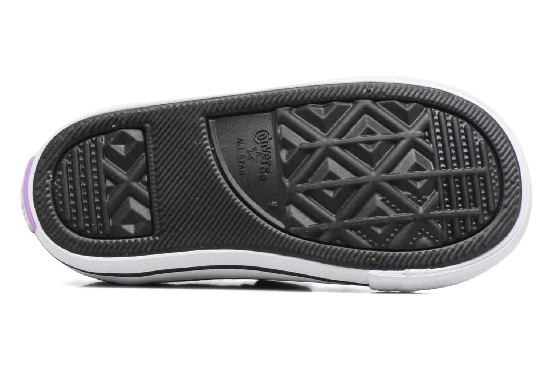 Sneakers Converse Chuck Taylor All Star 2V Ox Viola immagine dall'alto