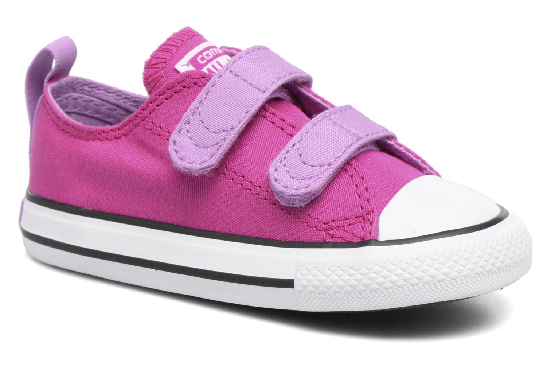 Sneakers Converse Chuck Taylor All Star 2V Ox Lilla detaljeret billede af skoene