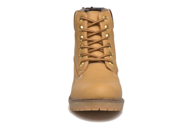 Stiefeletten & Boots I Love Shoes THODILLOT beige schuhe getragen