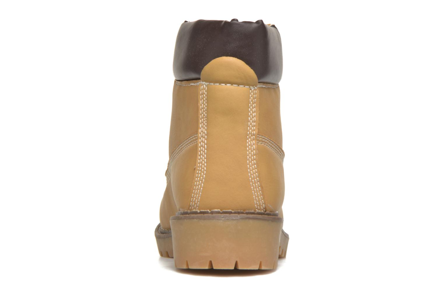 Ankle boots I Love Shoes THODILLOT Beige view from the right
