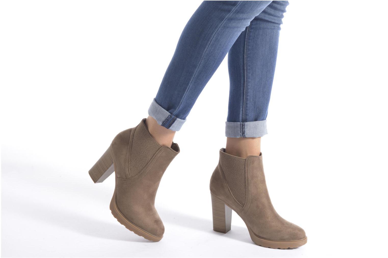 Stiefeletten & Boots I Love Shoes THASSE braun ansicht von unten / tasche getragen
