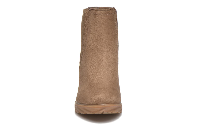 Stivaletti e tronchetti I Love Shoes THASSE Marrone modello indossato