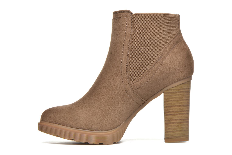 Stivaletti e tronchetti I Love Shoes THASSE Marrone immagine frontale