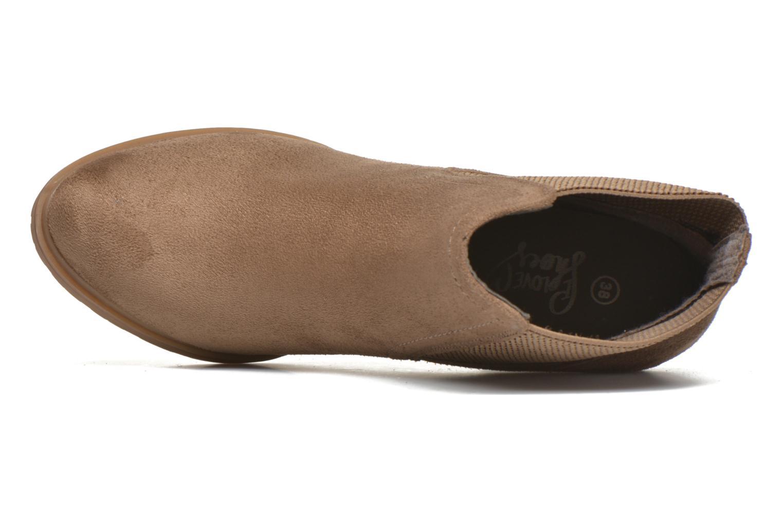 Stivaletti e tronchetti I Love Shoes THASSE Marrone immagine sinistra