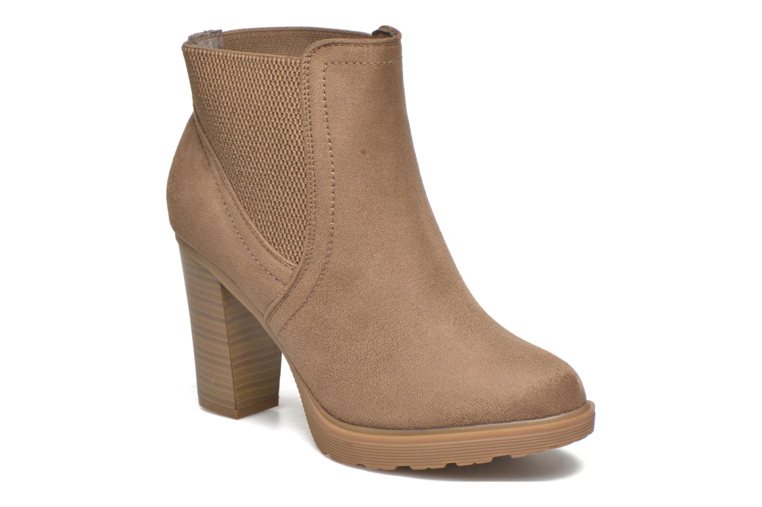 Marques Chaussure femme I Love Shoes femme THASSE Taupe MF
