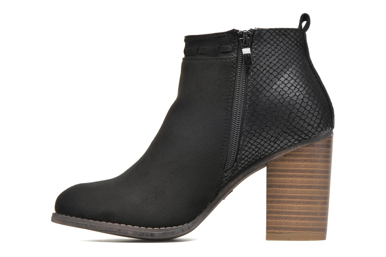 Ankle boots I Love Shoes THANSE Black front view