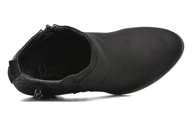 Botines  I Love Shoes THANSE Negro vista lateral izquierda