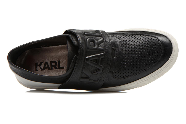 Sneakers Lagerfeld Bob by Karl Lagerfeld Zwart links