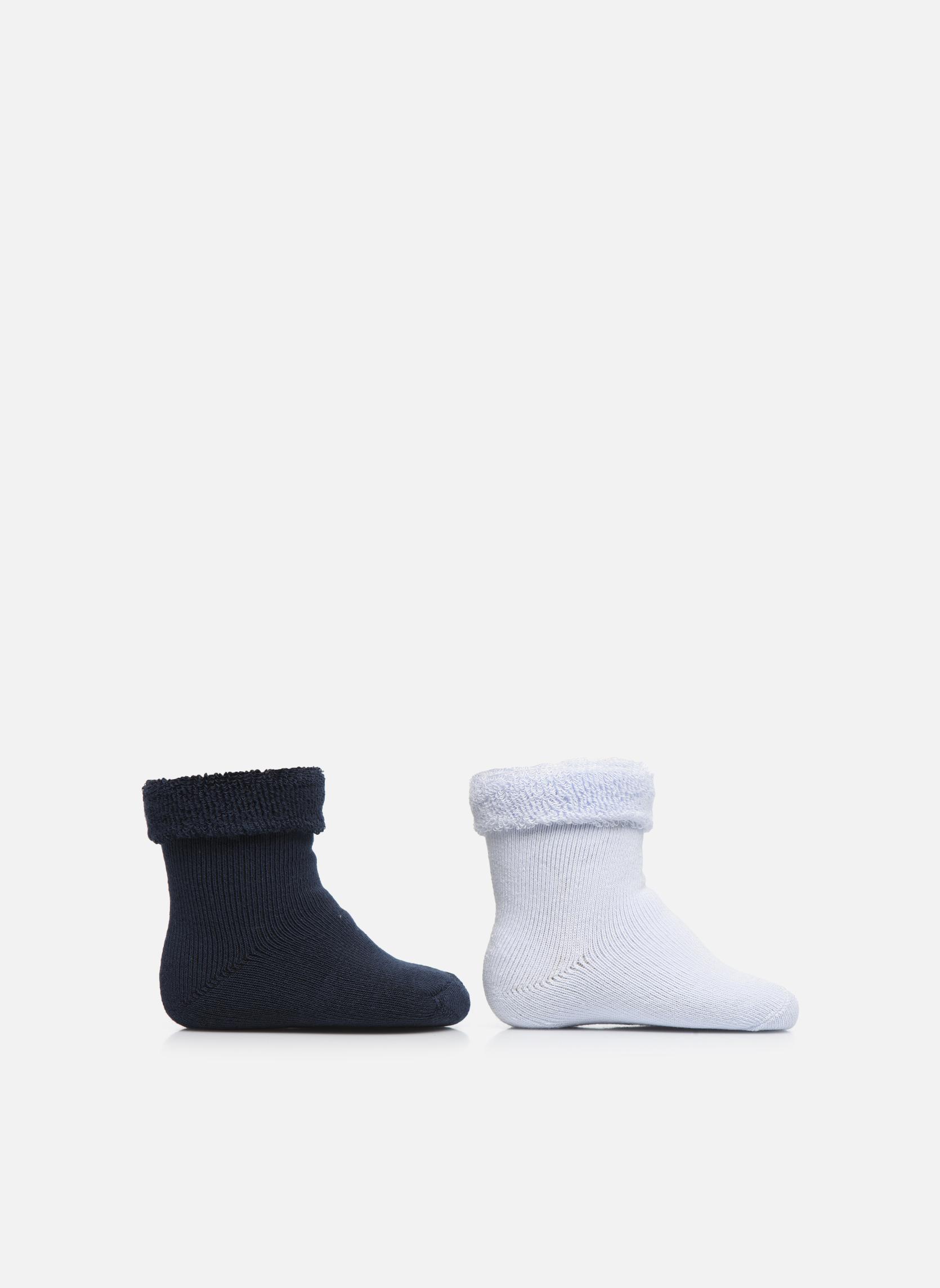 Socks Baby Pack of 2 ciel/marine