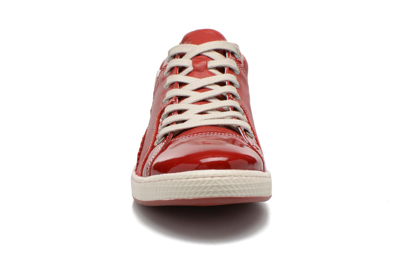 Trainers Pataugas Joka V Red model view
