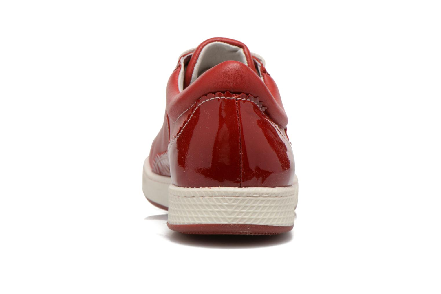 Trainers Pataugas Joka V Red view from the right