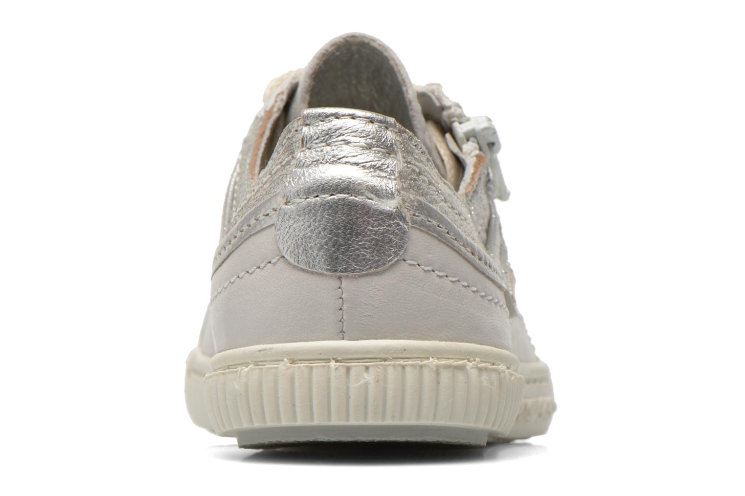 Trainers Pataugas Bisk J White view from the right
