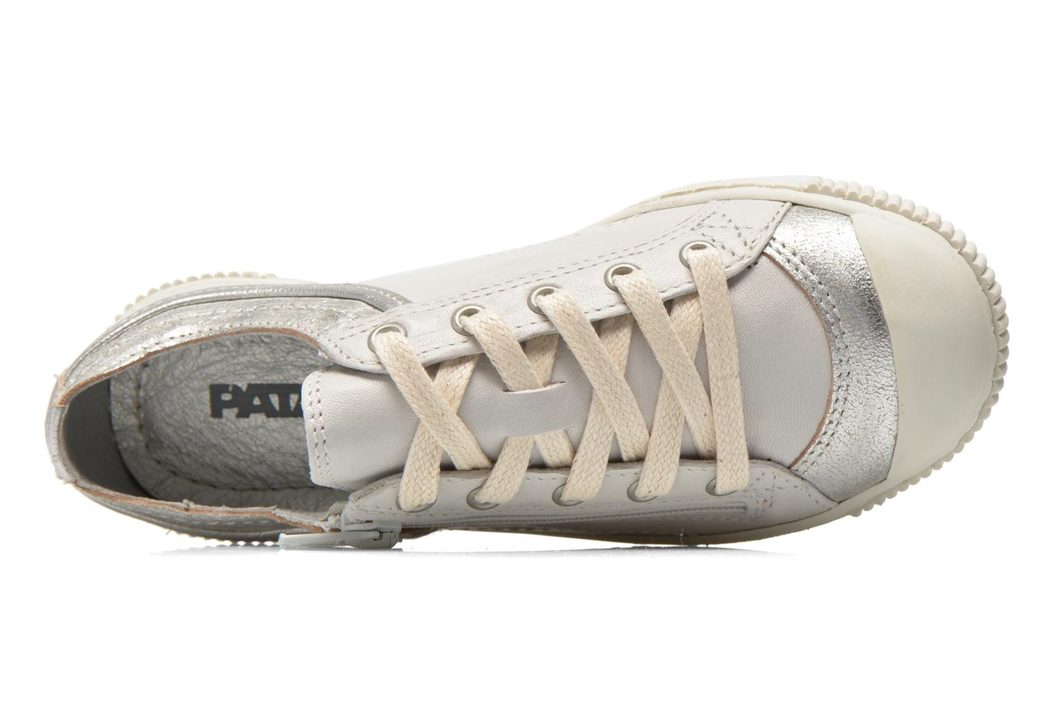 Trainers Pataugas Bisk J White view from the left