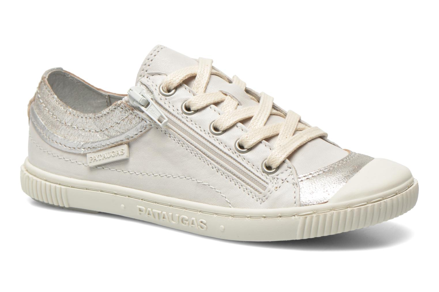 Trainers Pataugas Bisk J White detailed view/ Pair view